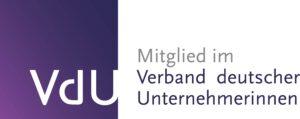 Logo VDU mit weißen Hintergrund